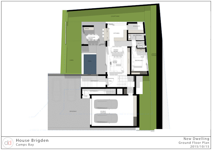 Ground Floor Plan cld architects