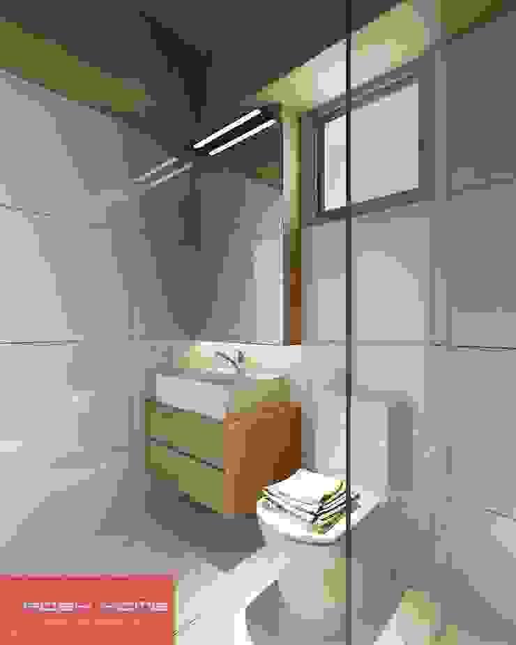 Bath Room - Tempanise Central Modern bathroom by Posh Home Modern