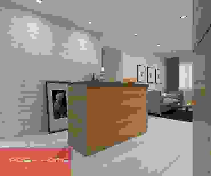 Dining Area- Tempanise Central Modern living room by Posh Home Modern