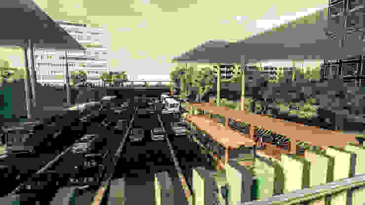 Boulevard 5 de Julio: Estación Intermodal Nodo 5 de Julio/Delicias. Pertopia Espacios comerciales
