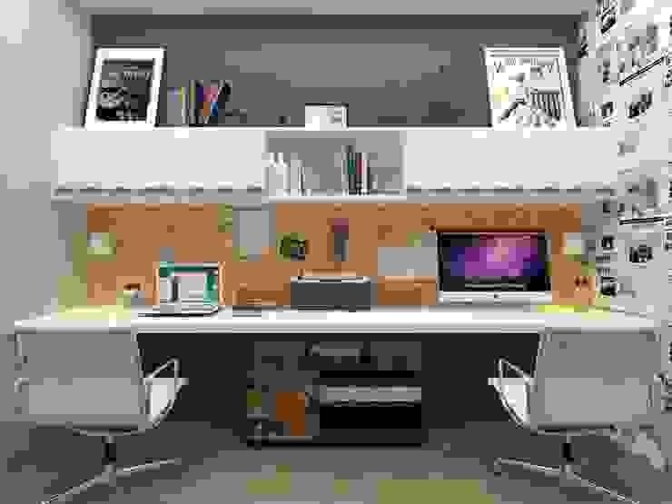 Atelie 3 Arquitetura Estudios y despachos de estilo escandinavo