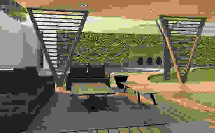 Modern Garden by Interiorista Teresa Avila Modern