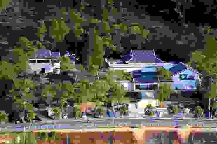 茶博館鳥瞰 根據 薛晉屏建築師事務所