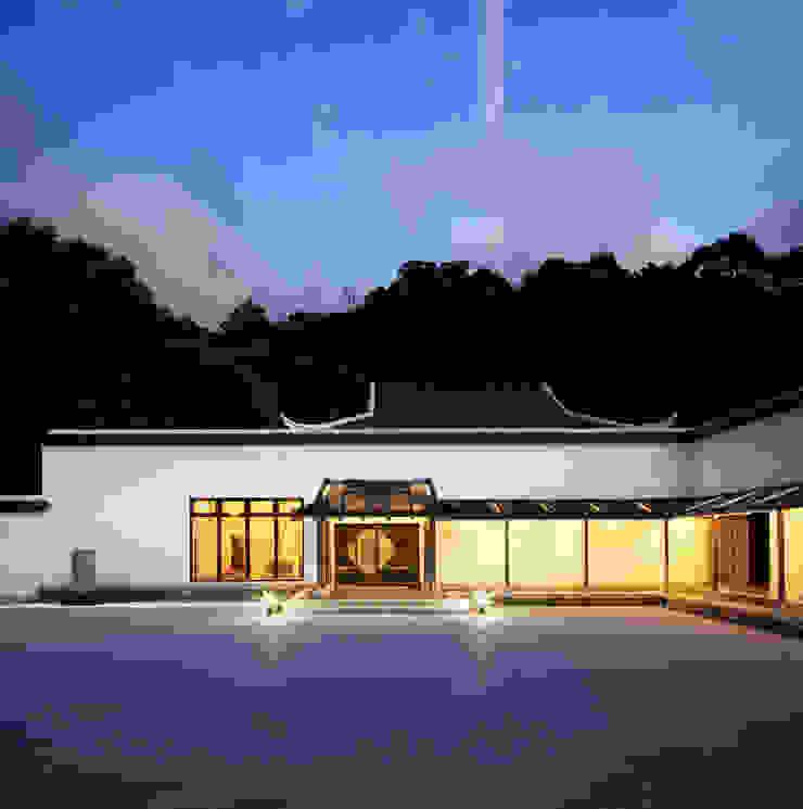 茶博館夜景 根據 薛晉屏建築師事務所