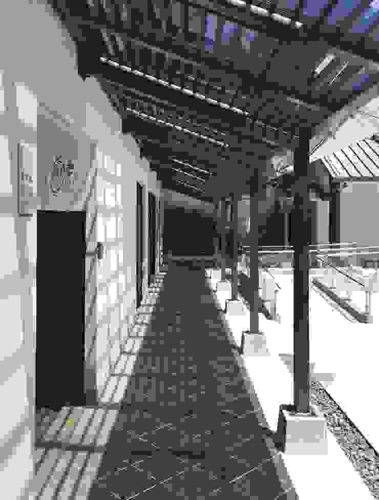 改建後迴廊 根據 薛晉屏建築師事務所