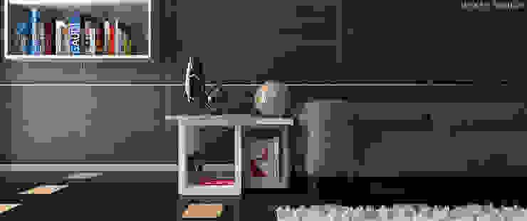 Eclectic Living Room Modern living room by Linken Designs Modern
