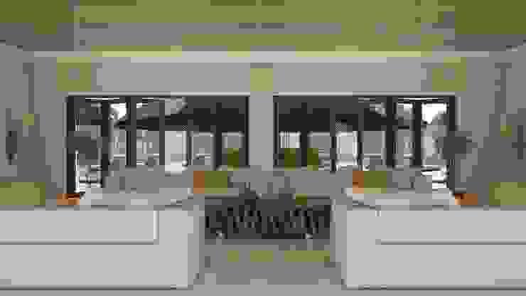 Larger Social Living Room Modern living room by Linken Designs Modern