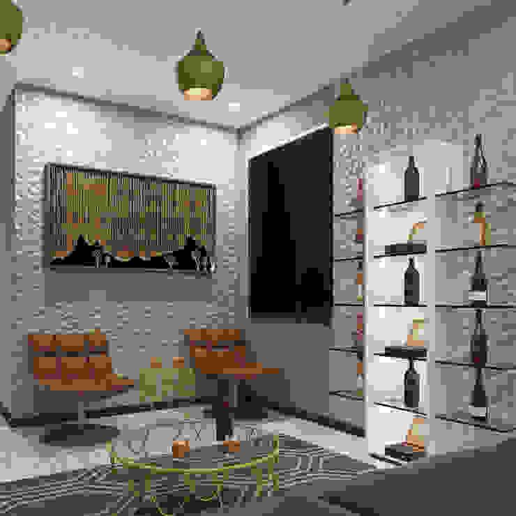 Modern Living Room Modern living room by Linken Designs Modern