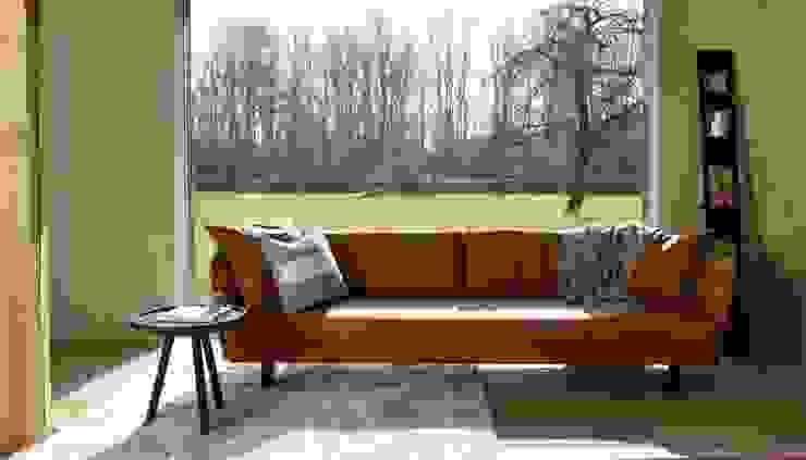 VIC sofa van MOOME: modern  door MOOME, Modern Leer Grijs