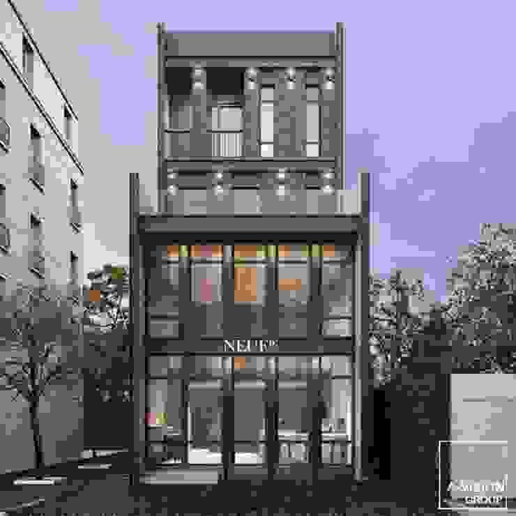 The Avenue Home office: คลาสสิก  โดย a-vision design and development company limited, คลาสสิค
