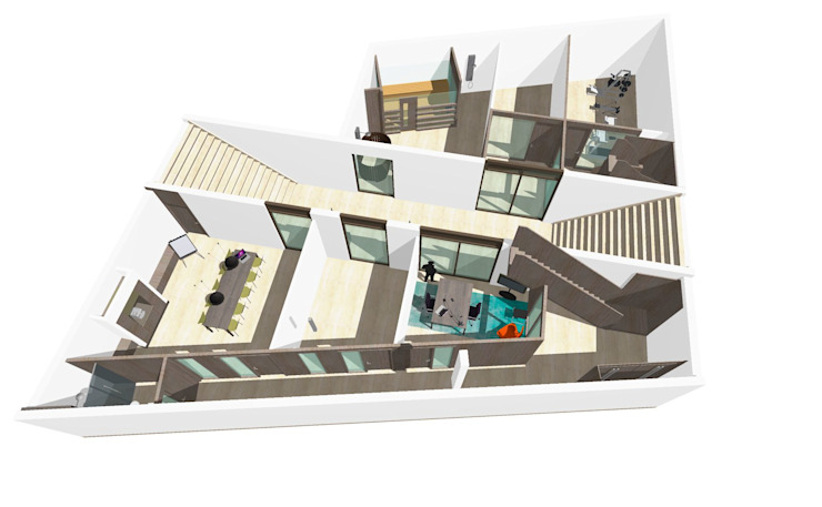 Villa ontwerp van Bobarchitectuur