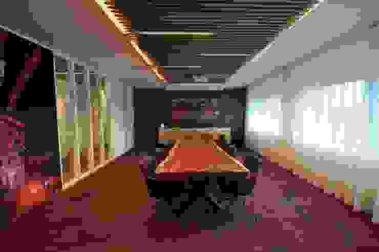 Vergaderzaal Moderne kantoor- & winkelruimten van Bobarchitectuur Modern