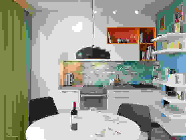 廚房 by дизайн-студия PandaDom