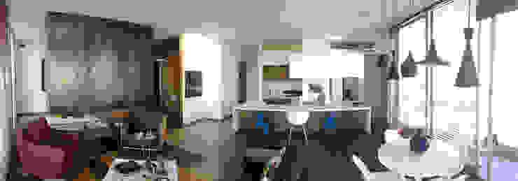 Remodelación Apartamento Echeverry Cocinas modernas de Contrafuerte Moderno