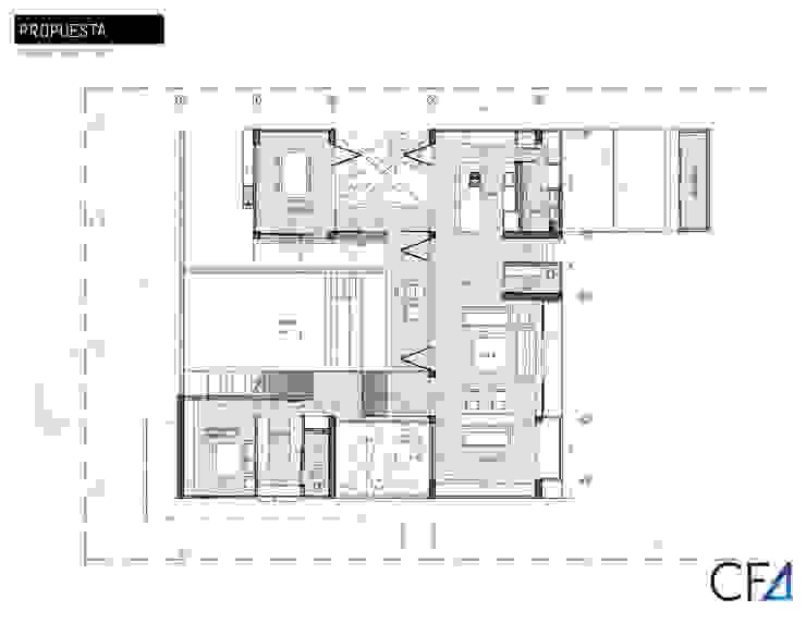 Casa Caracolí de Contrafuerte Moderno