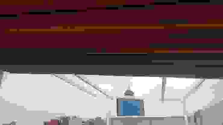 Modern terrace by Materia Viva S.A. de C.V. Modern