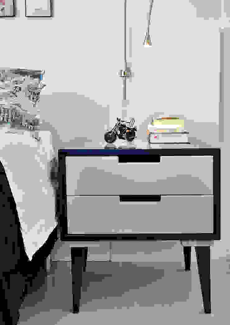 Move Móvel Criação de Mobiliário DormitoriosMesillas de noche Madera Azul