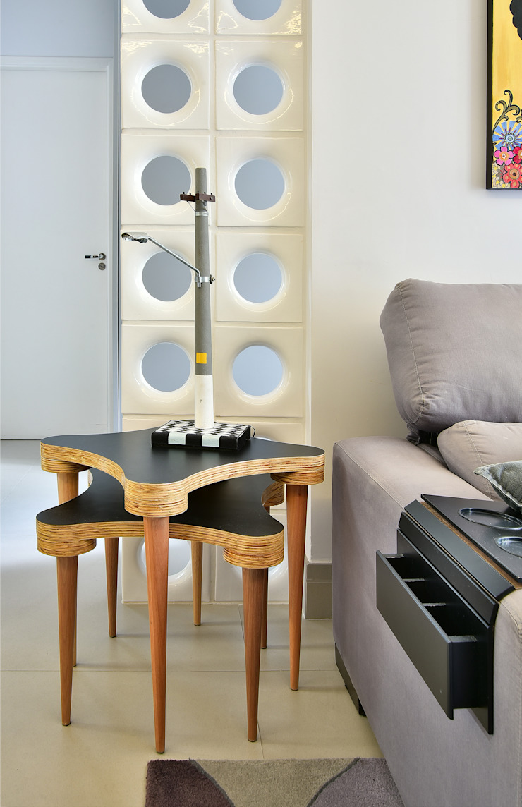 Move Móvel Criação de Mobiliário Living roomAccessories & decoration Solid Wood Black