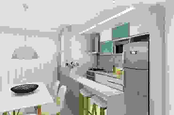 Cozinha homify Cozinhas modernas Turquesa