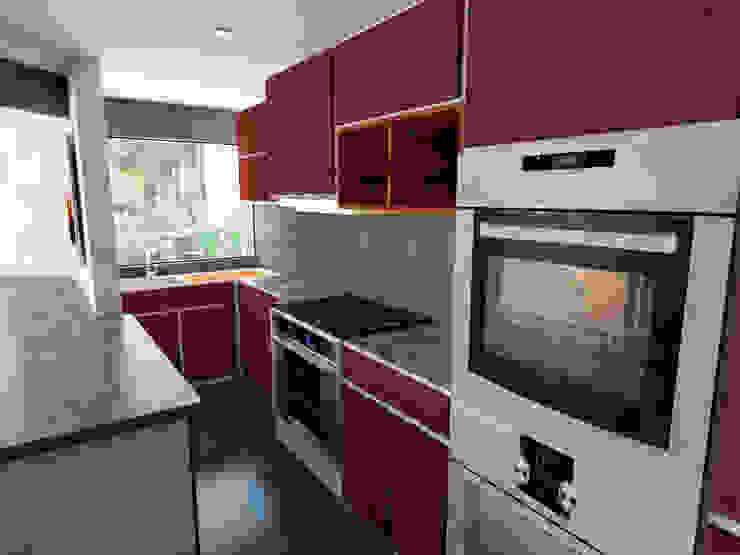 Moderne Küchen von Kontrast Arquitectos Modern