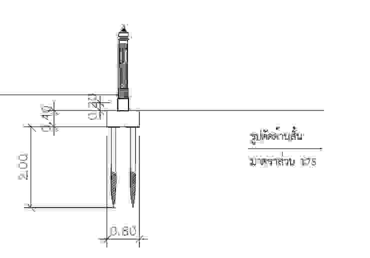 งานฐานรากกำแพงวัดใหม่ทองเสน (โบราณสถาน) โดย บริษัทเข็มเหล็ก จำกัด