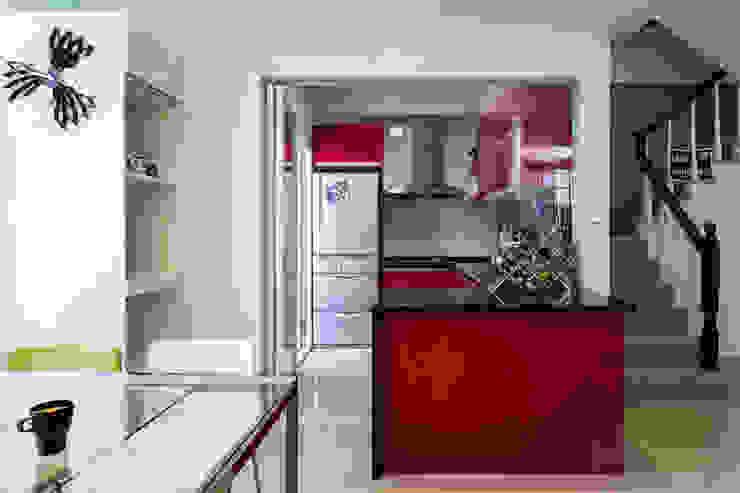 開放廚房 根據 果仁室內裝修設計有限公司 工業風