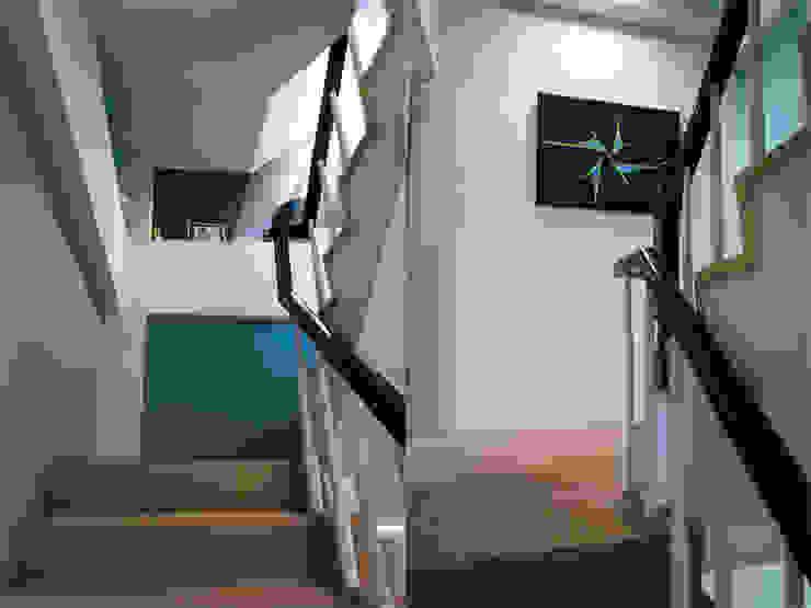 樓梯間 根據 果仁室內裝修設計有限公司 工業風