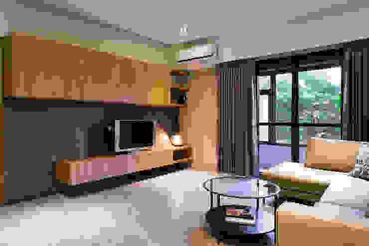 景觀客廳 根據 果仁室內裝修設計有限公司 北歐風