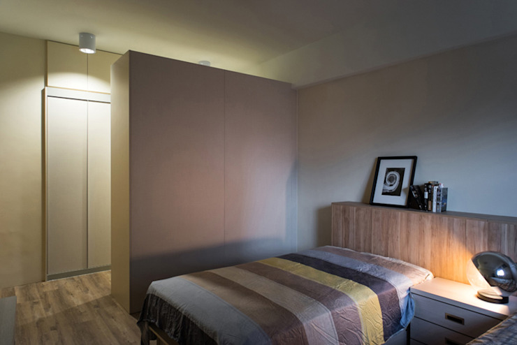 主臥室 根據 果仁室內裝修設計有限公司 北歐風