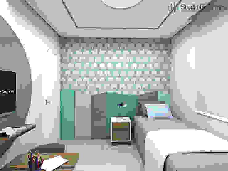 Dormitório Quartos modernos por homify Moderno