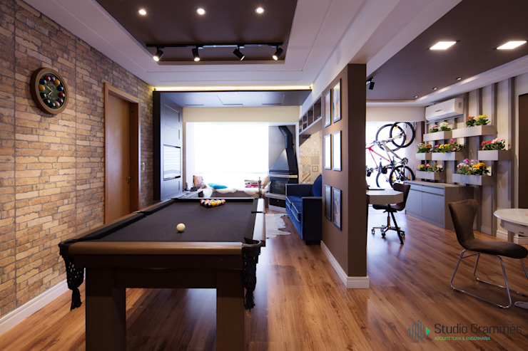 Studio Grammés • Arquitetura Modern Living Room