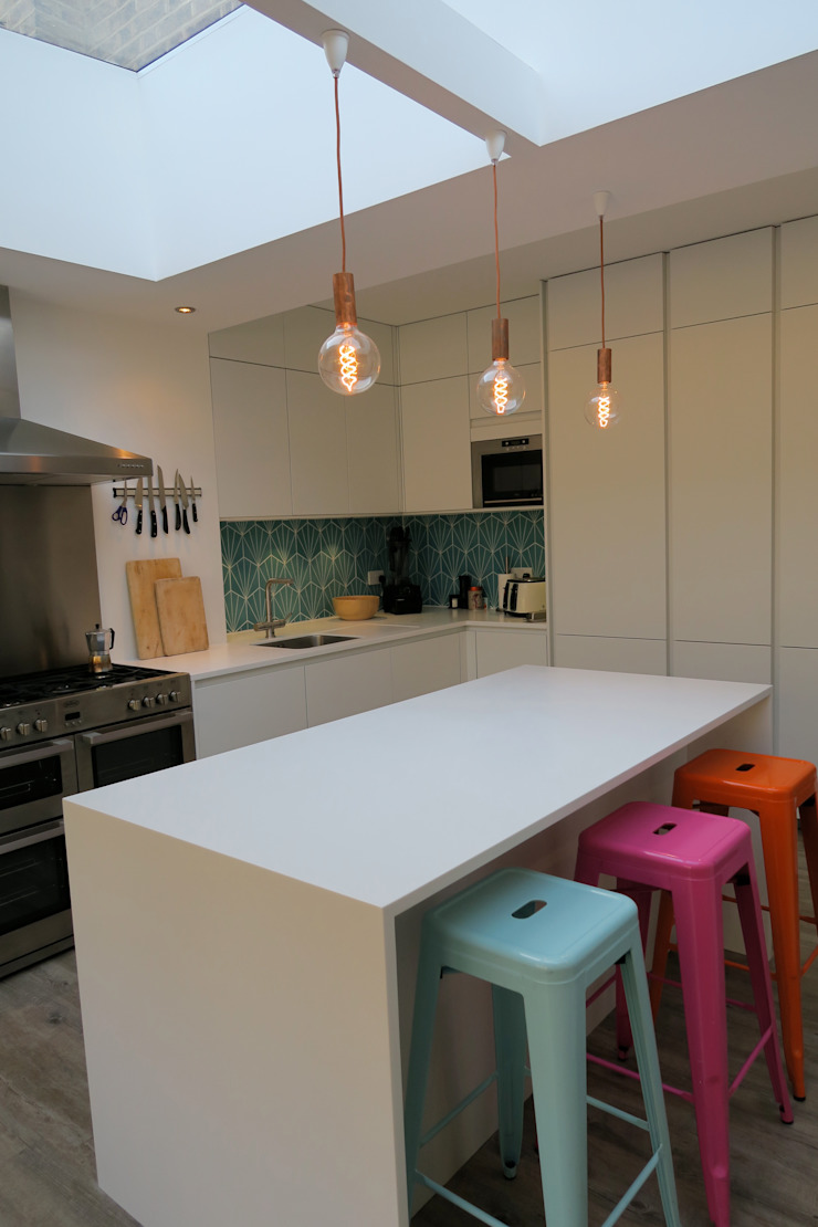 Kitchen Island Modern Kitchen by A2studio Modern