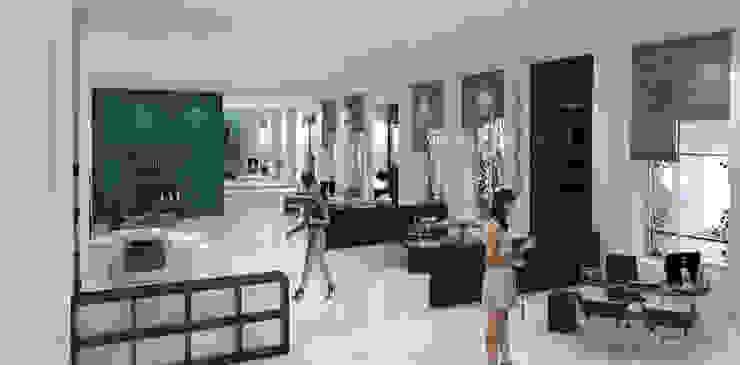 Tropische Geschäftsräume & Stores von Interiorista Teresa Avila Tropisch