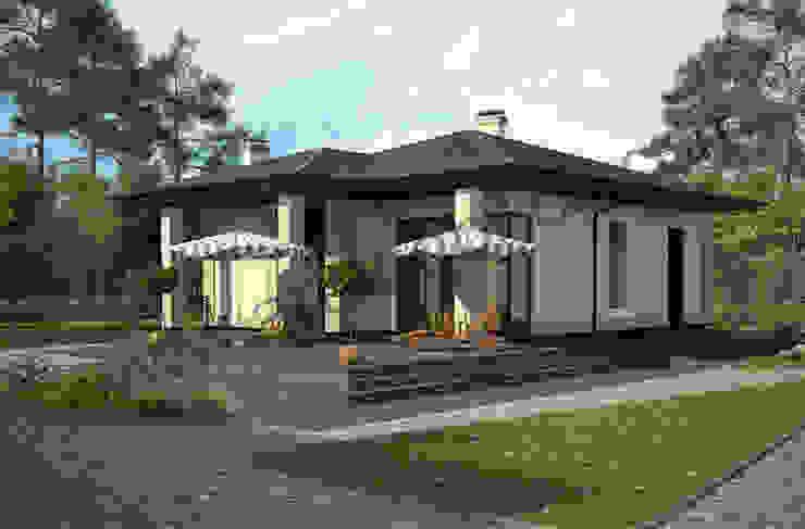 Rumah Klasik Oleh Архитектурное бюро Art&Brick Klasik