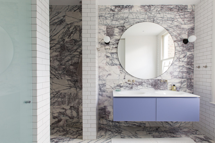 Bathroom by My-Studio Ltd, Modern Marble