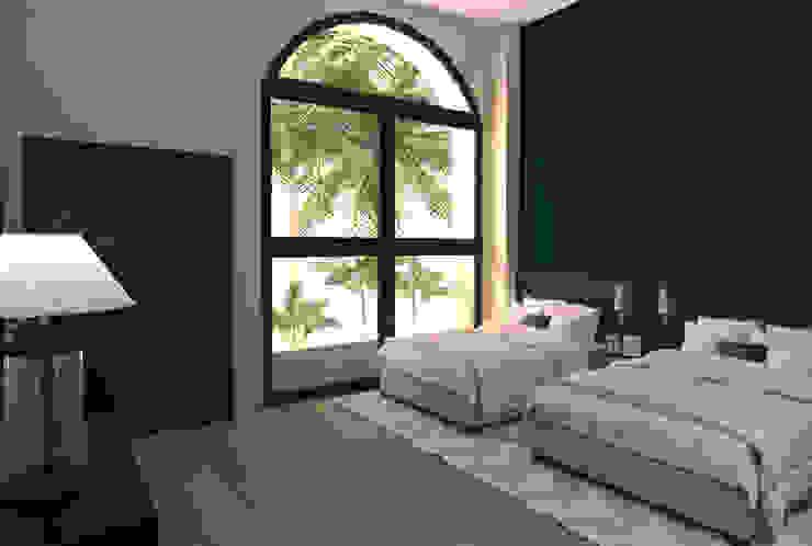 Velas Resort Hotel Master Suite di Interiorista Teresa Avila Moderno