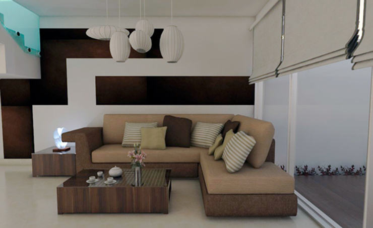 Casa Cuahutemoc de Interiorista Teresa Avila Moderno