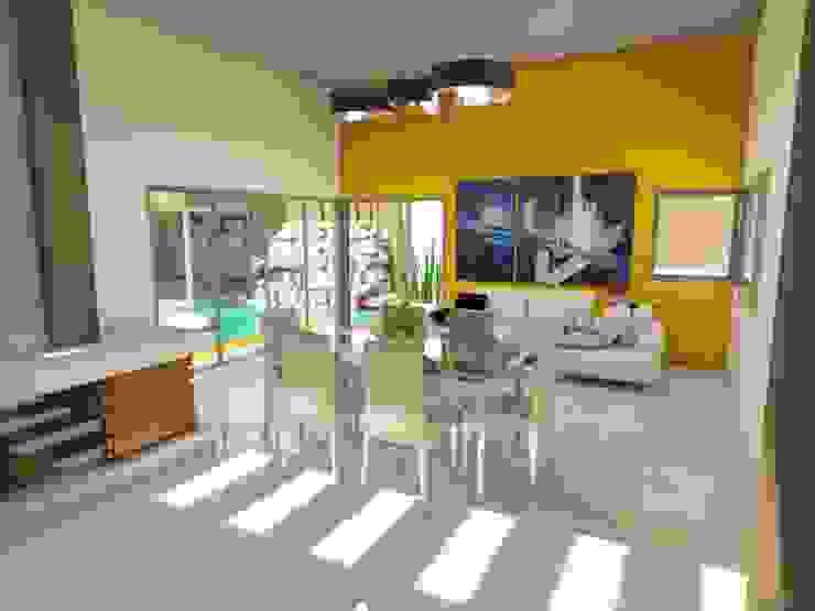 Nowoczesny salon od Gastón Blanco Arquitecto Nowoczesny