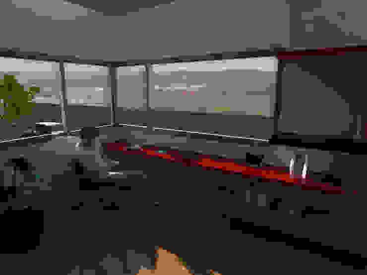 Nowoczesny pokój multimedialny od Gastón Blanco Arquitecto Nowoczesny