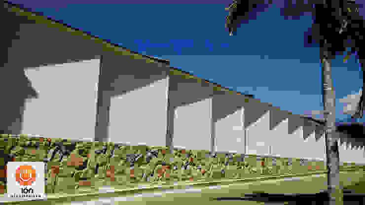 CERRAMIENTO ARQUITECTONICO JUEGOS DE SOMBRAS Casas de estilo minimalista de ION arquitectura SAS Minimalista
