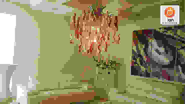 CASA LA UMBRIA / Reciclaje Arquitectonico Salas de estilo minimalista de ION arquitectura SAS Minimalista