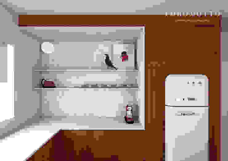 Cozinhas Cozinhas ecléticas por Coromotto Interior Design Eclético