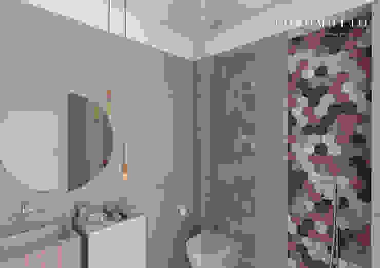 Coromotto Interior Design Kamar Mandi Gaya Eklektik