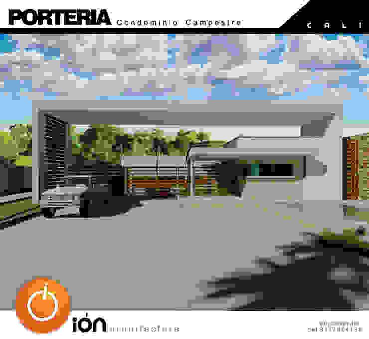 PORTADA CONDOMINIO CAMPESTRE / Reciclaje Arquitectonico Casas de estilo minimalista de ION arquitectura SAS Minimalista