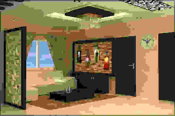 Mr. Praveen. Modern living room by Insign Modern Engineered Wood Transparent