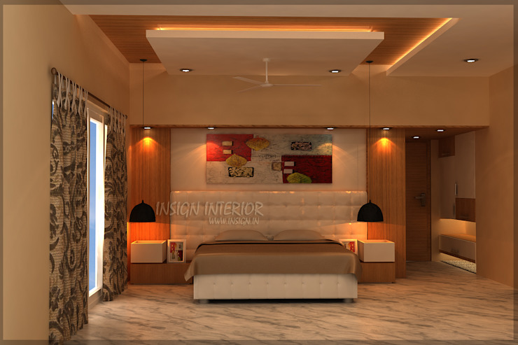 Mr. Praveen. Classic style bedroom by Insign Classic Plywood