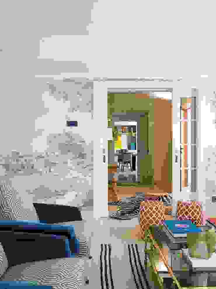 CASA VALDEMARIN 2015 BELEN FERRANDIZ INTERIOR DESIGN Salones de estilo ecléctico