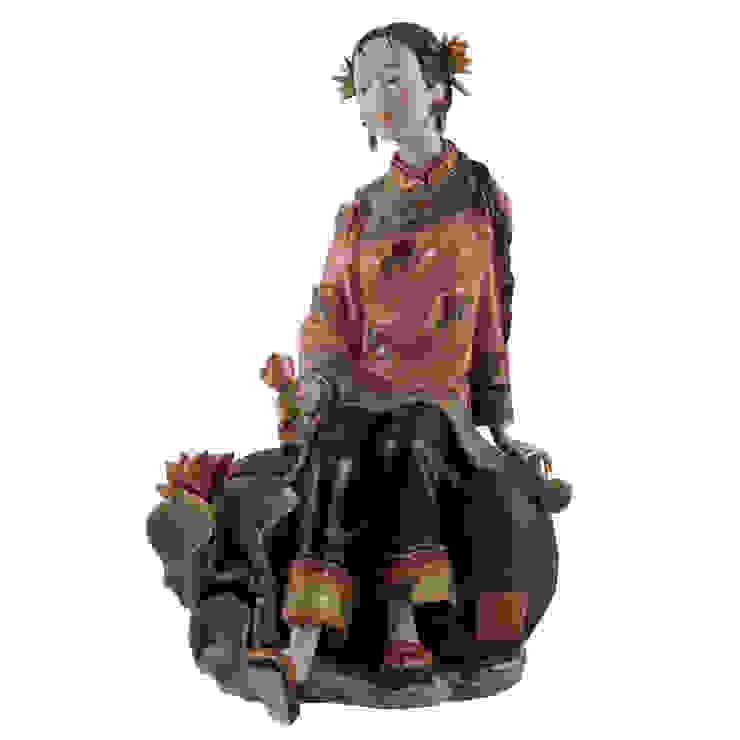 Интернет-магазин предметов интерьера 'CHINADOM' ArtSculptures Porcelaine Multicolore
