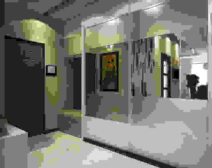 Инна Михайская Modern Corridor, Hallway and Staircase