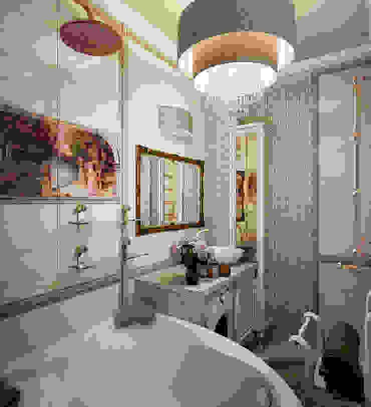 Инна Михайская Classic style bathroom Beige
